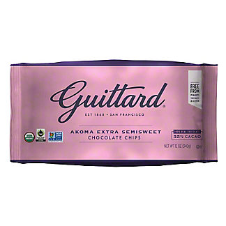 Guittard Akoma Extra Semi Sweet Chocolate Chips, 12 oz