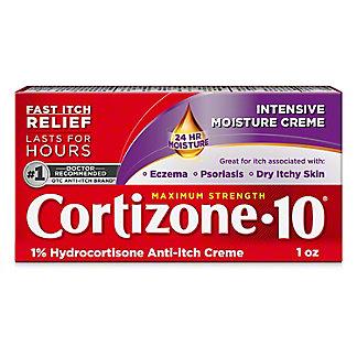 Cortizone 10 Maximum Strength Intensive Healing Formula Anti-itch Creme,1 OZ