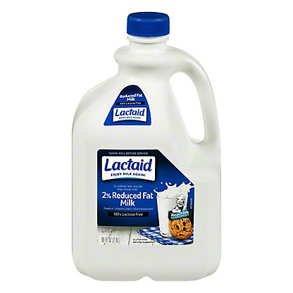 Lactaid Reduced Fat 2% Milkfat Milk, 96 oz