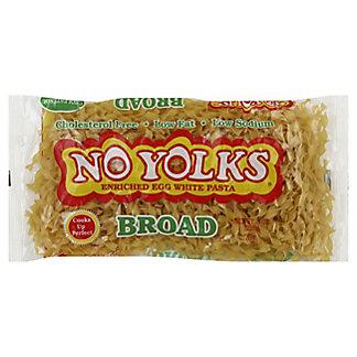 No Yolks Broad Egg Noodles,8 OZ