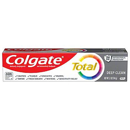 Colgate Total Advanced Deep Clean Anticavity Fluoride & Antigingivitis Toothpaste, 5.8 oz