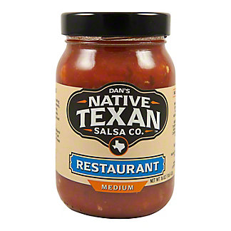 Native Texan Restaurant Style Salsa, 16 oz
