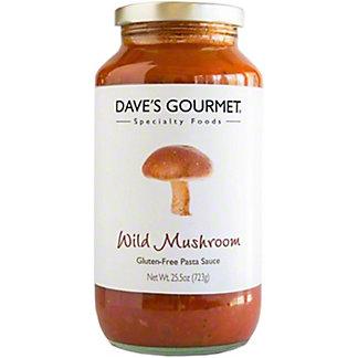 Dave's Gourmet Wild Mushroom Pasta Sauce,26 OZ