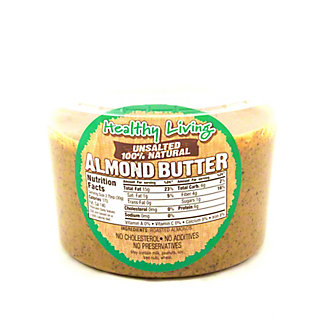 Hampton Farms Healthy Living Unsalted Almond Butter, sold by the pound