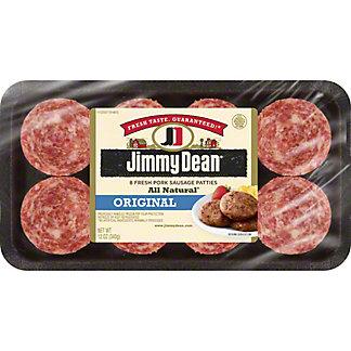 Jimmy Dean Premium All-Natural Pork Sausage Patties, 12 oz
