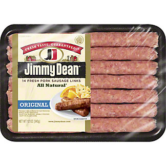 Jimmy Dean Original Fresh Pork Sausage Links,12 oz