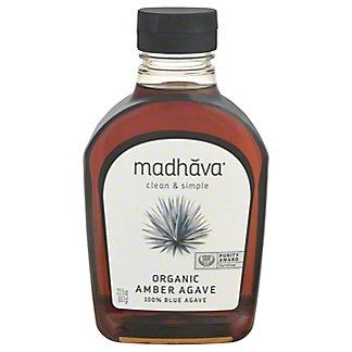 Madhava Madhava Amber Agave Nectar Organic,23.50 oz