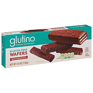 Glutino Milk Chocolate Coated Chocolate Wafers,4.6 OZ
