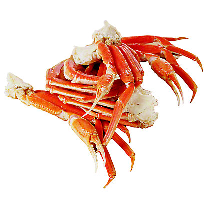 Frozen Cooked Alaska Snow Crab Cluster Large, Wild Caught, lb