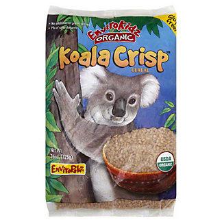 EnviroKidz Organic Rice Crisp Koala WF/GF Cereal,25.6OZ