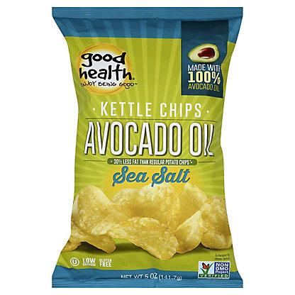 Good Health Sea Salt Avocado Potato Chips,5 OZ