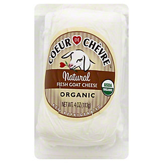 Coeur De Chevre Organic Natural Fresh Goat Cheese,4 OZ