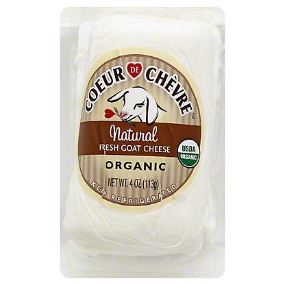 Coeur De Chevre Organic Natural Fresh Goat Cheese,4 OZ