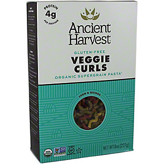 Quinoa Ancient Harvest Veggie Curls Pasta,8 OZ