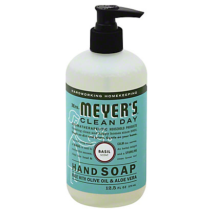 Mrs. Meyer's Clean Day Basil Scent Liquid Hand Soap, 12.5 oz