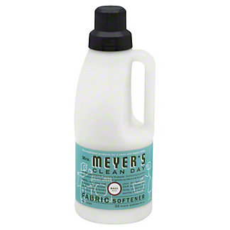Mrs. Meyer's Clean Day Basil Scent Fabric Softener 32 Loads, 32 oz