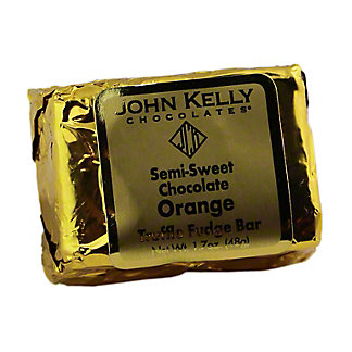 JOHN KELLY CHOCOLATES John Kelly Truffle Fudge Orange without Nuts,1.7OZ