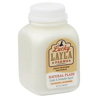 Lucky Layla Lucky Layla Natural Plain Yogurt, 8 oz