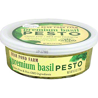 Bear Pond Farm Premium Basil Pesto,6.3 OZ