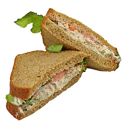 Central Market Tuna Salad Sandwich on Whole Wheat Bread, EACH