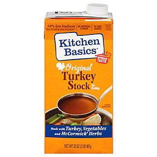 Kitchen Basics Turkey Stock,32 OZ