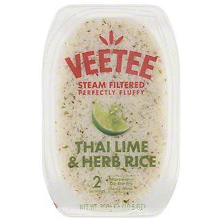 Veetee Dine In Thai Lime & Herb Rice, 10.6 oz