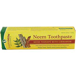 Theraneem Herbal Neem Cinnamon Toothpaste,4.23OZ