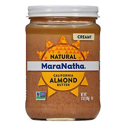 MaraNatha Creamy No Stir Almond Butter,12 OZ