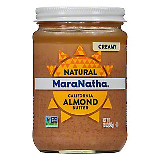 MaraNatha Creamy No Stir Almond Butter,12 OZ