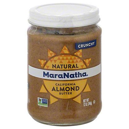 MaraNatha Crunchy No Stir Almond Butter,12 OZ