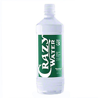 Crazy Water Crazy Water Alkaline Natural Mineral Water No. 3,33.8 OZ