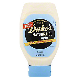 Duke's Light Mayonnaise Squeeze Bottle,18 OZ