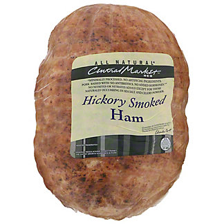 Central Market Hickory Smoked Ham, lb