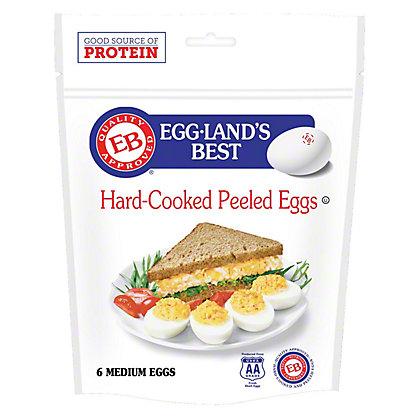 Eggland's Best Hard-Cooked Peeled Medium Eggs, 6 ct