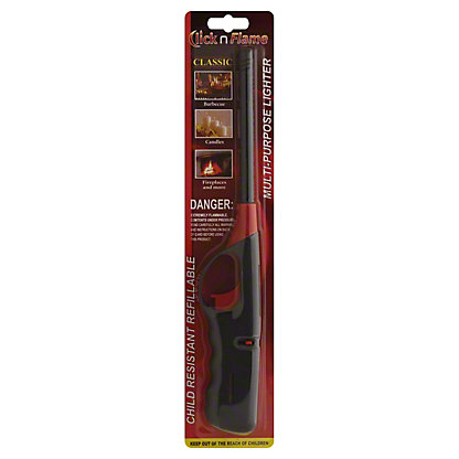 Easton Enterprises Click n Flame Utility Lighter,EACH