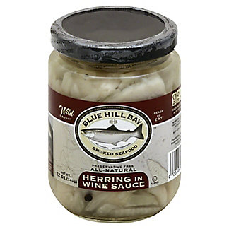 Blue Hill Bay Herring in Wine Sauce,12 OZ