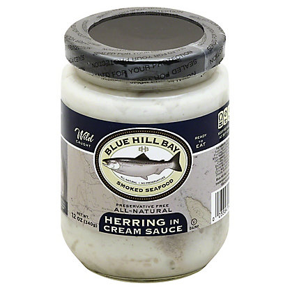 Blue Hill Bay Herring in Cream Sauce,12 OZ