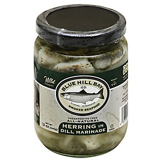Blue Hill Bay Herring in Dill Marinade,12 OZ