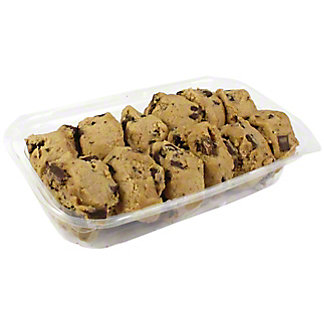 Central Market Ready to bake Chocolate Chunk Cookies, 12 ct