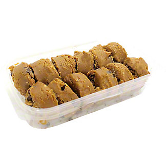 Central Market Ready-To-Bake Peanut Butter Chocolate Chunk Cookies, 12 ct, 2 oz ea