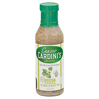 Cardini's Light Greek Vinaigrette Dressing,12.00 oz