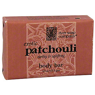 River Soap Company Exotic Patchouli Body Bar Soap,4.5 OZ