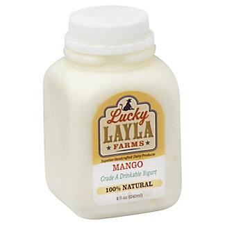 Lucky Layla Drinkable Mango Yogurt,8 OZ