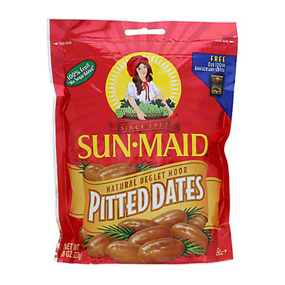 Sun-Maid Natural California Pitted Dates,8 OZ