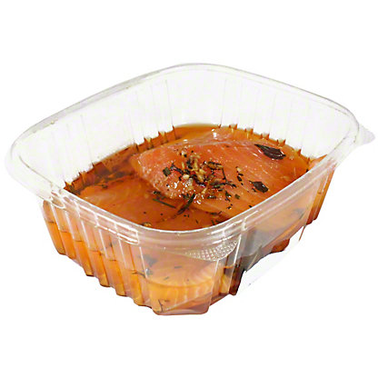 Central Market Herb Marinated Salmon Kit, ea