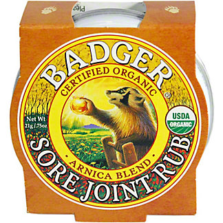 Badger Arnica Blend Sore Joint Rub, 0.75 Oz