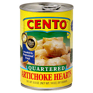 Cento Quartered Artichoke Hearts,14 oz