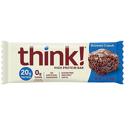 thinkThin Brownie Crunch High Protein Bar,2.1 oz