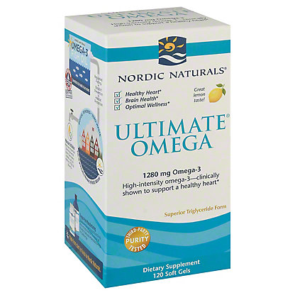Nordic Naturals Ultimate Omega,120 CT