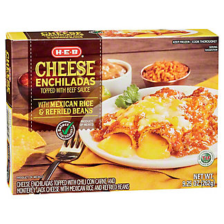 H-E-B Classic Selections Cheese Enchiladas,9.25 OZ